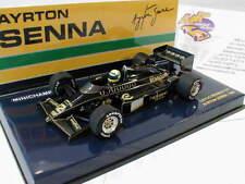Modell-Rennfahrzeuge von Lotus Ayrton-Senna im Maßstab 1:43