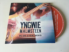 Yngwie Malmsteen 2019 PROMO CD ALBUM Blue Lightning