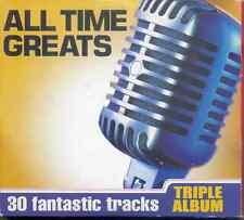 ALL TIME GREATS - PROMO 3 CD SET: 3 DEGREES, CANDI STATON, KINGSMEN, PAT BOONE