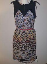 MW Matthew Williamson mainline silk chiffon dress UK8 BN