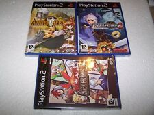 ATELIER IRIS 1,2 & 3  - PS2 - UK PAL - NEW & FACTORY SEALED - EXC COND