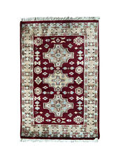 3' 2'' x 2' 1'' (ft) Hand Knotted | Pakistani Bokhara | Area Rug | StampaRugs