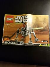 Lego Star Wars Microfighters Homing Spider Droid (75077) manual