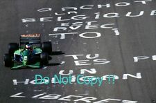 Michael Schumacher Jordan 191 belga Grand Prix 1991 fotografía 1