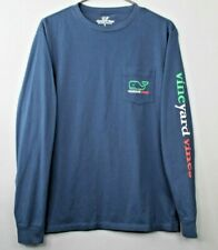 VINEYARD VINES Adult Navy Blue St Paddys Day 2017 Shirt Top Small S - Free Ship