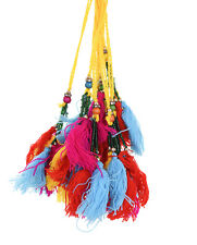 Decorative Tassels Multicolor Frings Sewing Latkans Craft Accessories By 10 PC