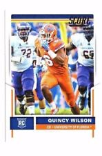 Quincy Wilson , (Rookie) 2017 Panini Score, #410 , Football Card !!