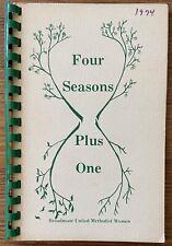 Vintage 1974 Four Seasons Plus One Cookbook Broadmoor Baton Rouge Louisiana