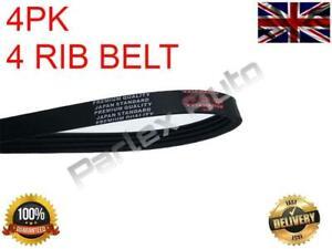 Alternator Drive V-Ribbed Belt 4PK595 For Mitsubishi Lancer V (Petrol)