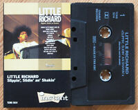 LITTLE RICHARD - SLIPPIN' SLIDIN' AN' SHAKIN' (INSTANT TCINS5014) 1989 CASSETTE
