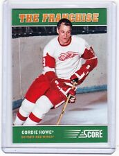 12-13 2012-13 SCORE GORDIE HOWE ORIGINAL SIX THE FRANCHISE OS2 DETROIT RED WINGS