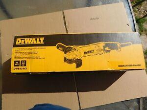 NEW DeWALT DWE43113 4-1/2 - 5 13-Amp High Performance Trigger Switch Grinder