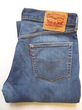 Levis 506 Jeans Homme Standard Coupe Droite W34 L32 bleu moyen Strauss levj 568 #