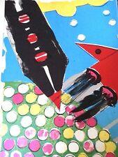 11.5x16 kornfeld 1964 original offset litho pop art kiki ok Kogelnik vivid image