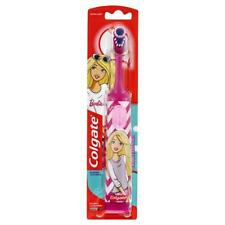Colgate Battery Powered Electric Extra Soft Toothbrush For Kids - Barbie - New