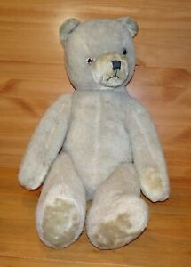 Vintage 1950's Schuco Large 24 inch Jointed Teddy Bear Working Growler (09164)