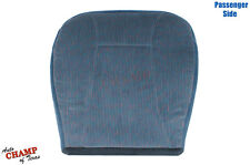 94 95 96 Ford Bronco XLT-Passenger Side Bottom Replacement Cloth Seat Cover Blue