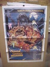"CARAVAN OF COURAGE, nr mint orig tri-fold 1-sh ""B"" / movie poster [Drew Struzan]"