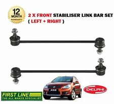 FOR SUZUKI SX4 1.6 1.9TD S CROSS 2006->New 2 X FRONT STABILISER LINK ROD BAR SET