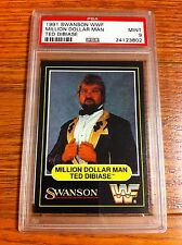 1991 Swanson WWF Million Dollar Man Ted Dibiase Wrestling Card PSA 9 WWE WCW HOF