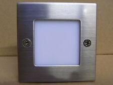 LED Wandleuchte Treppenleuchte Stufenbeleuchtung Einbauleuchte warmweiß 0,9 W
