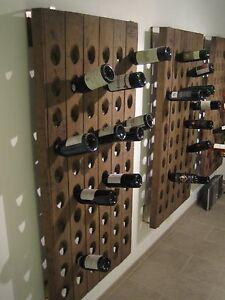 Rüttelbrett Rüttelpult Sekt Champagner Weinregal 60 Fl. inkl. Montageset gratis.