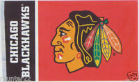 Huge Chicago Blackhawks Huge 3 x 5 NHL Licensed Flag - Free Shipping