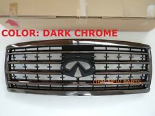 Genuine Infiniti QX56 QX 56 Front Grill Grille DARK CHROME NEW 62310ZQ50A