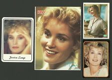 Jessica Lange Movie Film Star Actress Fab Card Collection