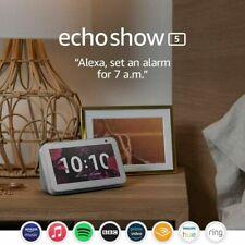 Amazon Echo Show 5 Voice Control Touch Screen with Alexa Play Video View Photos