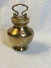 Brass Pet Urn 4� X 3�