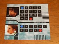 Star Wars Epic Duels Game Character Card Luke Leia Skywalker