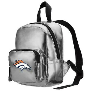 "NFL Denver Broncos Spotlight Mini-Backpack, 10"" x 3.25"" x 7"""