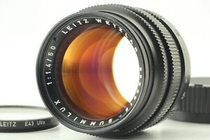 """""""MINT """" Leica Summilux-M 50mm F1.4 Ver.2 V2 Black Lens For m Mount From JAPAN"""