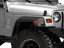"New 6"" Wide Jeep Wrangler TJ Fender Flares 1997-2006 Pocket Style Riveted 6 Pcs"