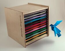 Origami Paper Case Box Organizer for 6 inch square sheets  by Strictly Origamic