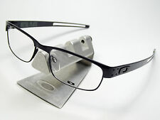 OAKLEY METAL PLATE TITANIUM RX BRILLE EVADE WHY 3 SQUARE WIRE VOLTAGE KEEL TECH