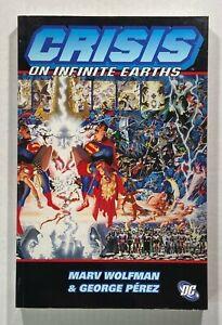 Crisis on Infinite Earths Wolfman Perez TPB Graphic Novel 2005 DC Comics