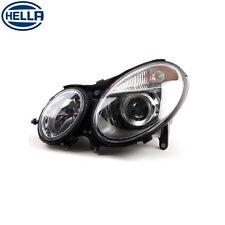 Left Mercedes W211 E320 E500 E55 E350 Hella Headlight Assembly (Halogen)