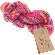 100g WOOL CLASICA MANOS del URUGUAY Merino Corriedale Wolle Handgefärbt 8726