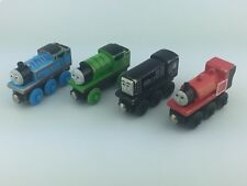 Thomas & Friends Wooden Railway Train Lot of 4 Diesel, Skarloey, Percy