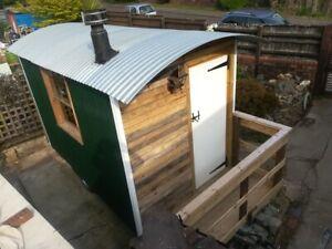 Shepherd's Hut Glamping Hut Garden Hut Business Hut Home Office