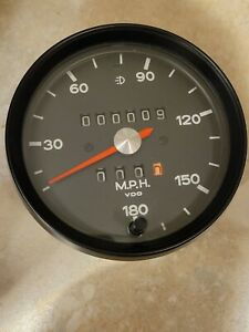 Porsche 911 RS/RSR Style Backdated  180 Mph Electronic Speedometer - VDO