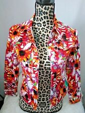 Live a Little Women Blazer Floral Stretch Long Sleeve Jacket Size: PS~ Spring