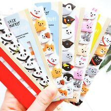 320 Pages Cute Animal Sticker Post Bookmark Marker Memo Index Tab Sticky new