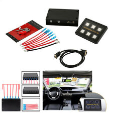 Universal Car SUV Boat 6-Gang LED Touch Screen Slim Switch Control Panel 12V/24V