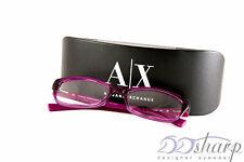 Armani Exchange Eyeglasses-AX 3009 8066 BERRY JAM TRANSPARANT