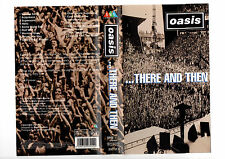 OASIS....THERE AND THEN --VHS COVER ONLY RARE