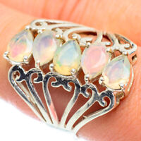 Ethiopian Opal 925 Sterling Silver Ring Size 9.25 Ana Co Jewelry R54588