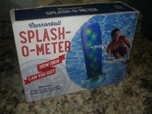 Wembley Splash-O-Meter  Cannon Ball How High Can you go water game FUN pool lake